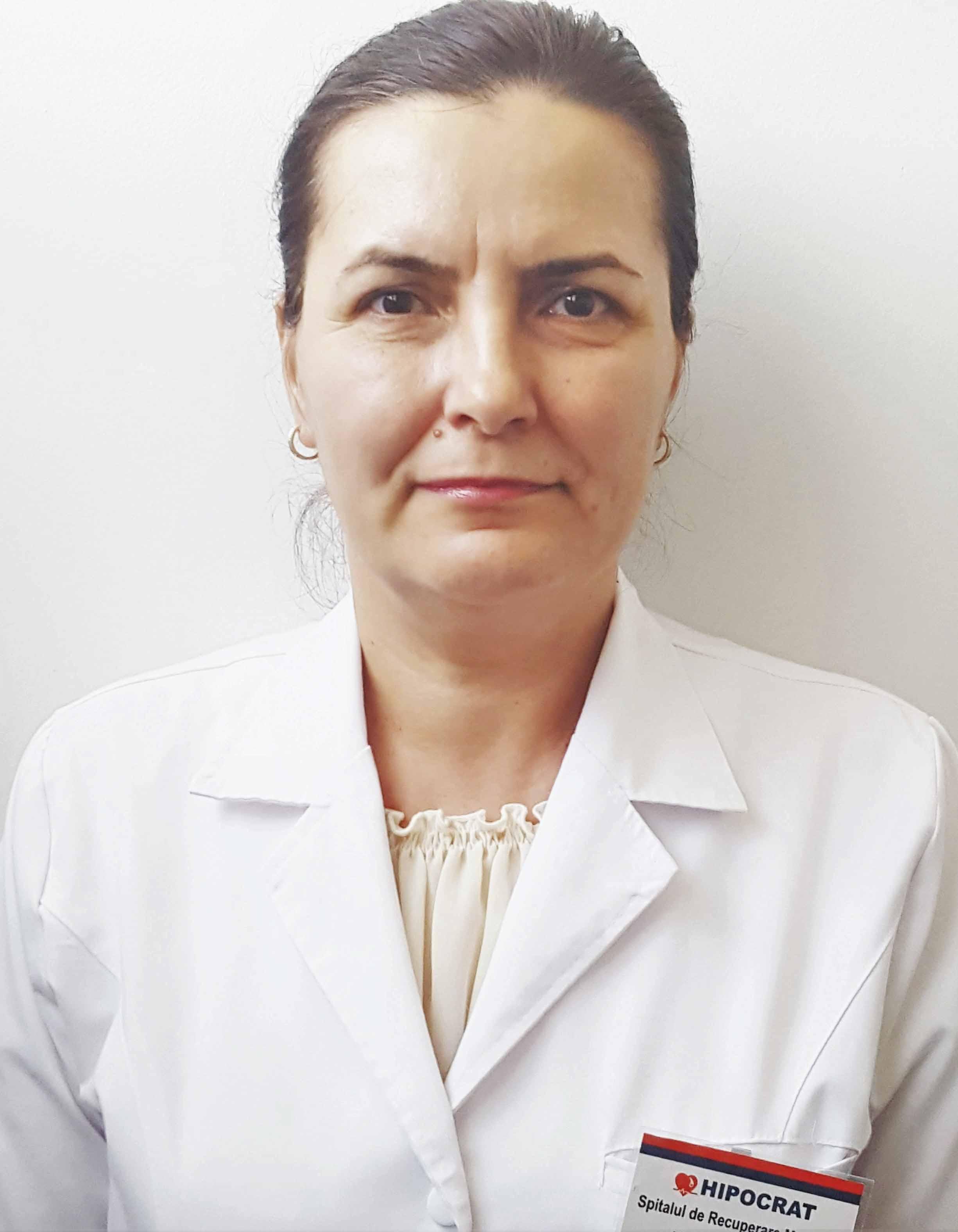 Dr. Maria Spiridon.